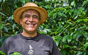Farmer happy due to fair trade